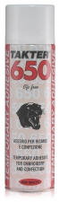 ADESIVO TEMP. 650 ROSSO ML.500 PANT
